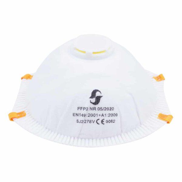 SJ ffp2 cup mask with valve SJ2278V 03